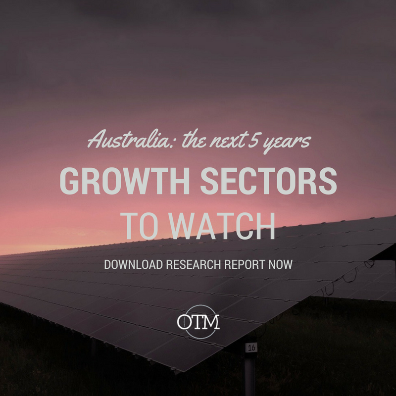 Australia's Economy: Growth sectors to watch over the next five years