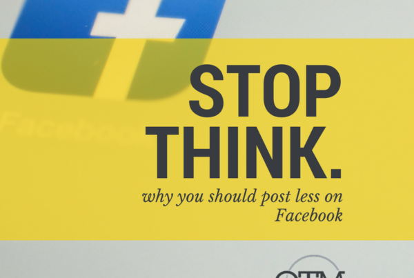 Why you should post less to facebook