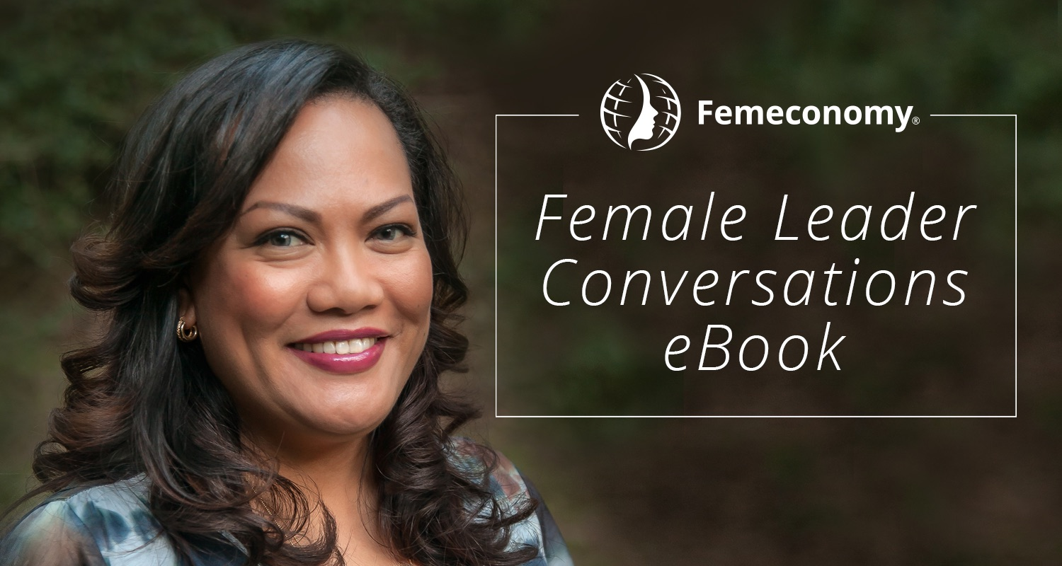 Female Leader Conversations: eBook cover design
